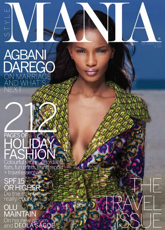 Agbani Darego For Mania Magazine Travel Issue Olu Maintain Nnena Agba Ojy Okpe Yvonne