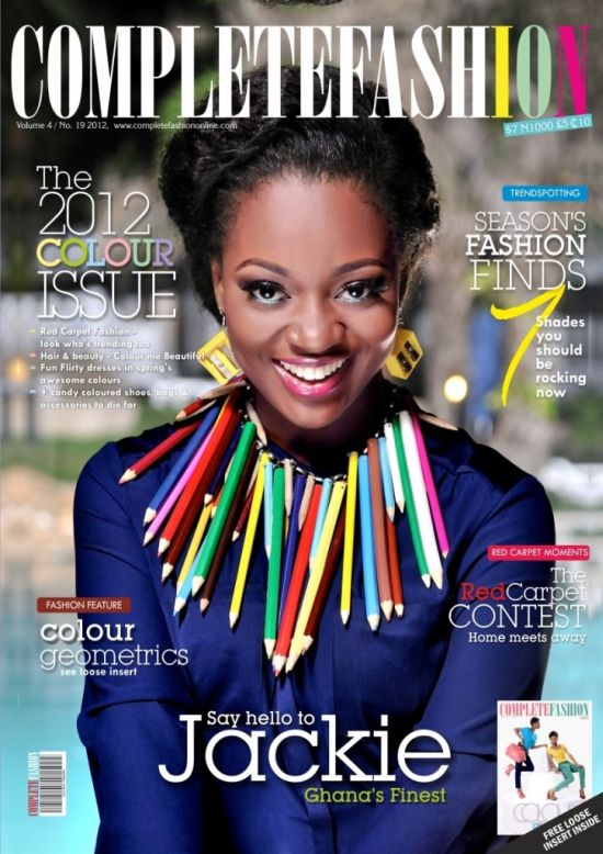 Jackie Appiah Covers Complete Fashion Magazine June Edition