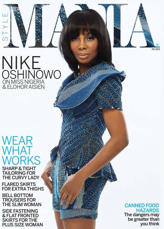 nike oshinowo covers style mania magazine talks miss