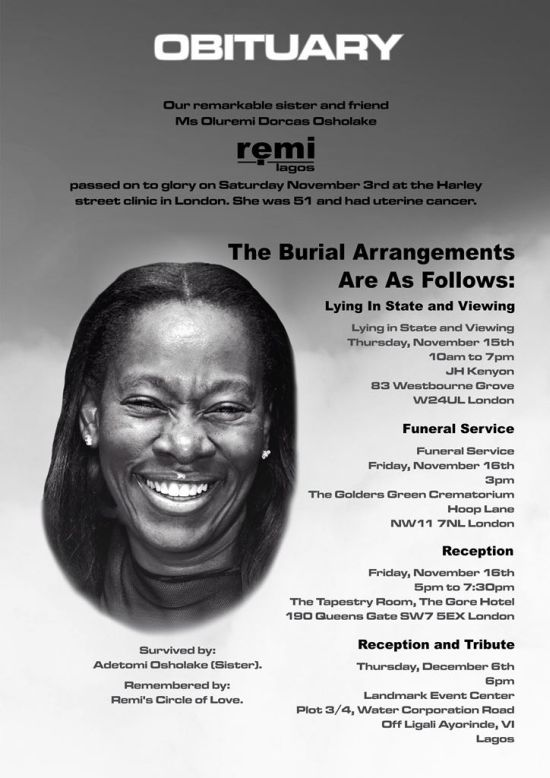 Remi Lagos Funeral Services